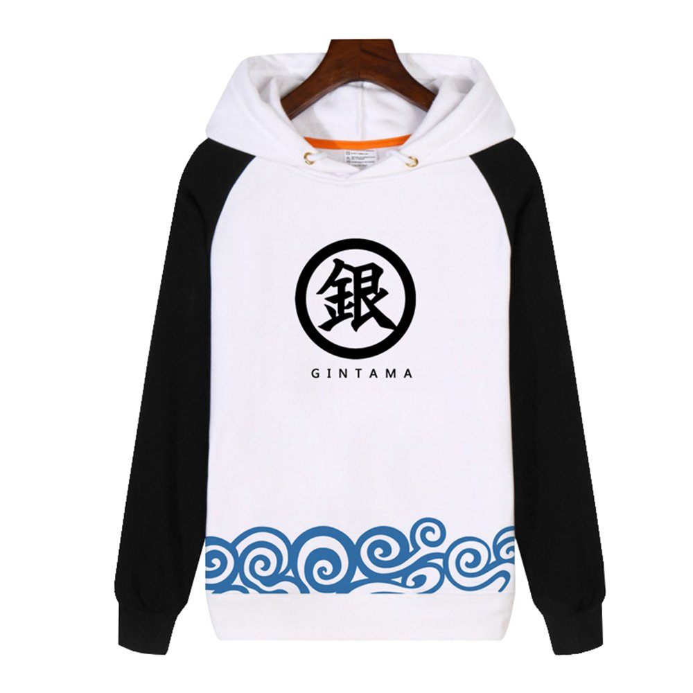 Amazon.com: Rains Pan Anime Gintama Cosplay Costume Fleece Hoodies Sweatshirts Coat Unisex Teens: Clothing