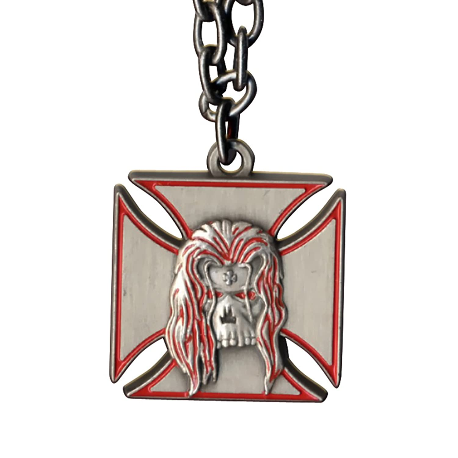 Amazon Wwe Triple H Symbol Pendant Necklace Red Outline Jewelry