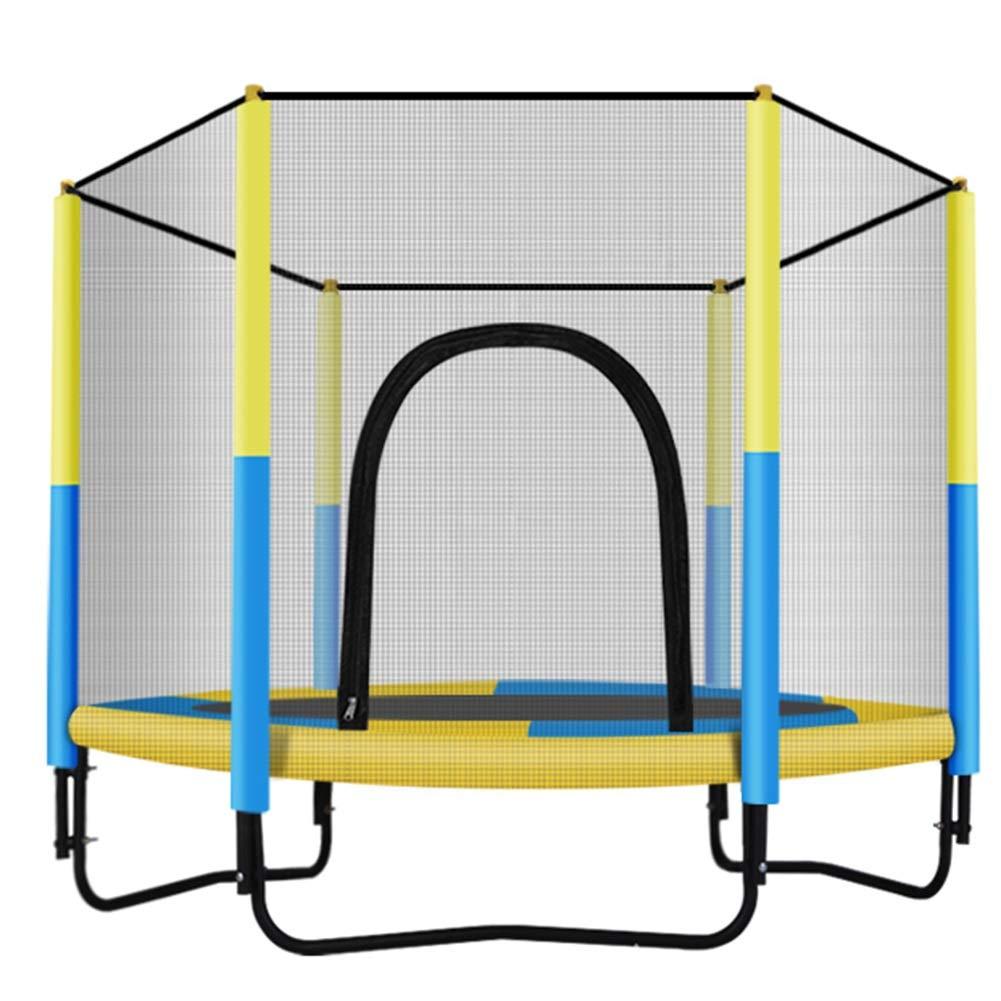 Gartentrampoline Trampoline Haushalt Kind Indoor Bouncing Bett Kind Erwachsene mit Schutznetz Spielzeug Springen Bett