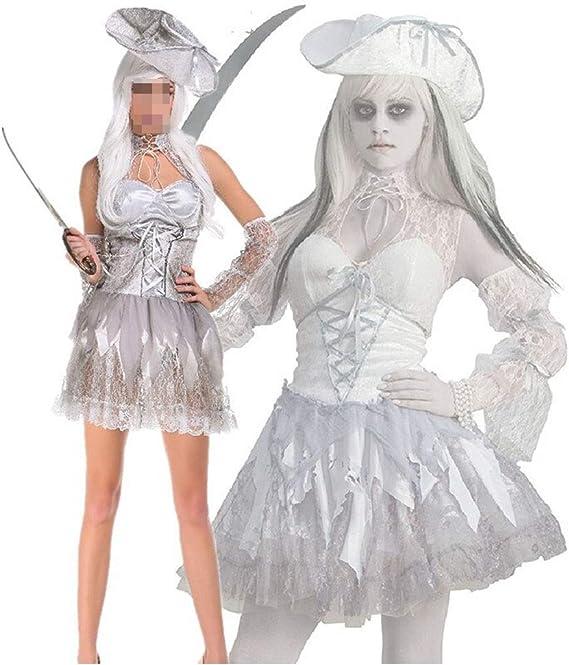 KODH Nuevo disfraz de Halloween Cosplay blanco Falda del diablo ...