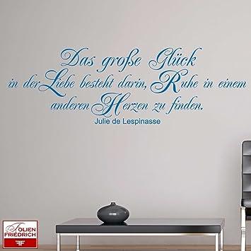W701 (86x28cm) burgunderrot - Das große Glück in der Liebe ...