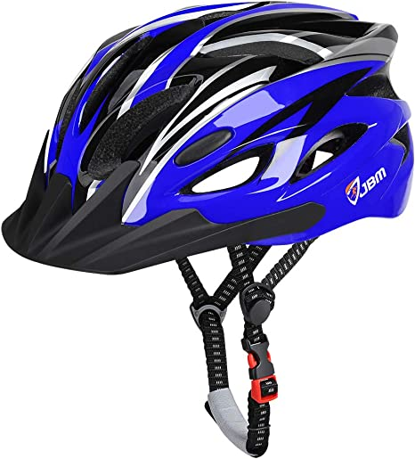 KUYOU Adult Cycling Bike Helmet Safety Light LED Ultralight Mountain Mens Womens