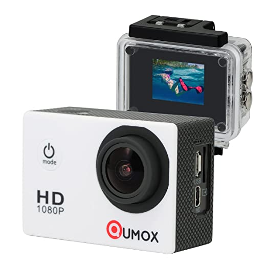 1006 opinioni per QUMOX SJ4000 Action Sport Cam Camera Waterproof Full HD 1080p Video Helmetcam