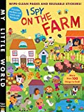 I Spy on the Farm Sticker Activity (My Little World)