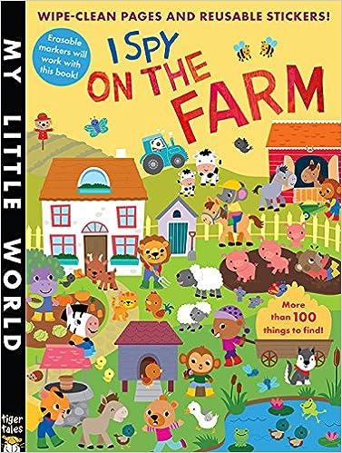 i spy on the farm sticker activity my little world jonathan