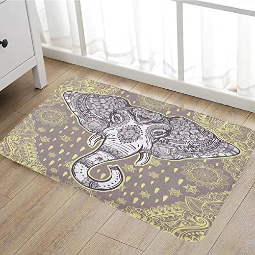 Frontgate Beige Rug (Large Outdoor Door Mats Rubber Shoes Scraper for Front Door 15.7