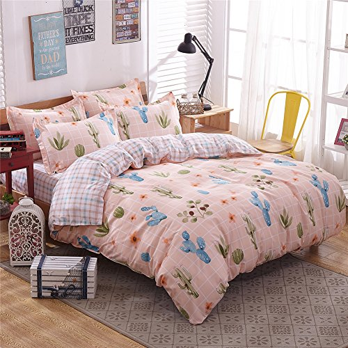 zhiyuan-cactus-pattern-duvet-cover-flat-sheet-pillowcases-setfull