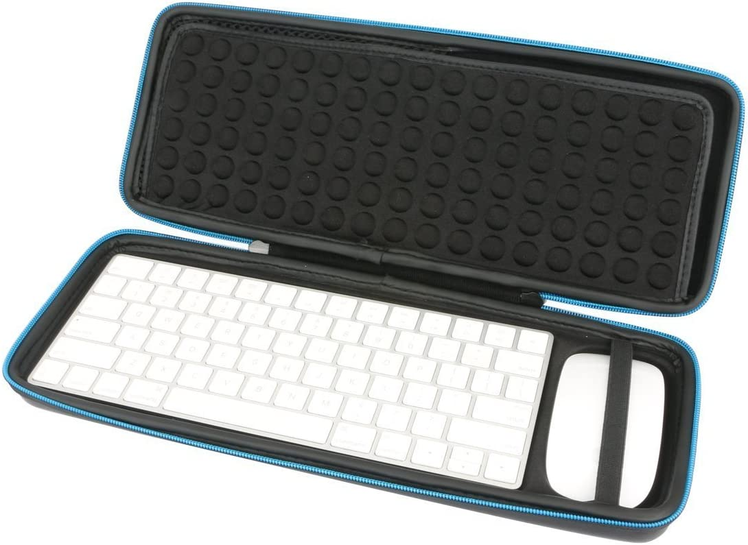 Baval Hard Case Portable Bag Replacement for Apple Magic Wireless Keyboard (MLA22LL/A) / Apple Magic Mouse 2 (MLA02LL/A)