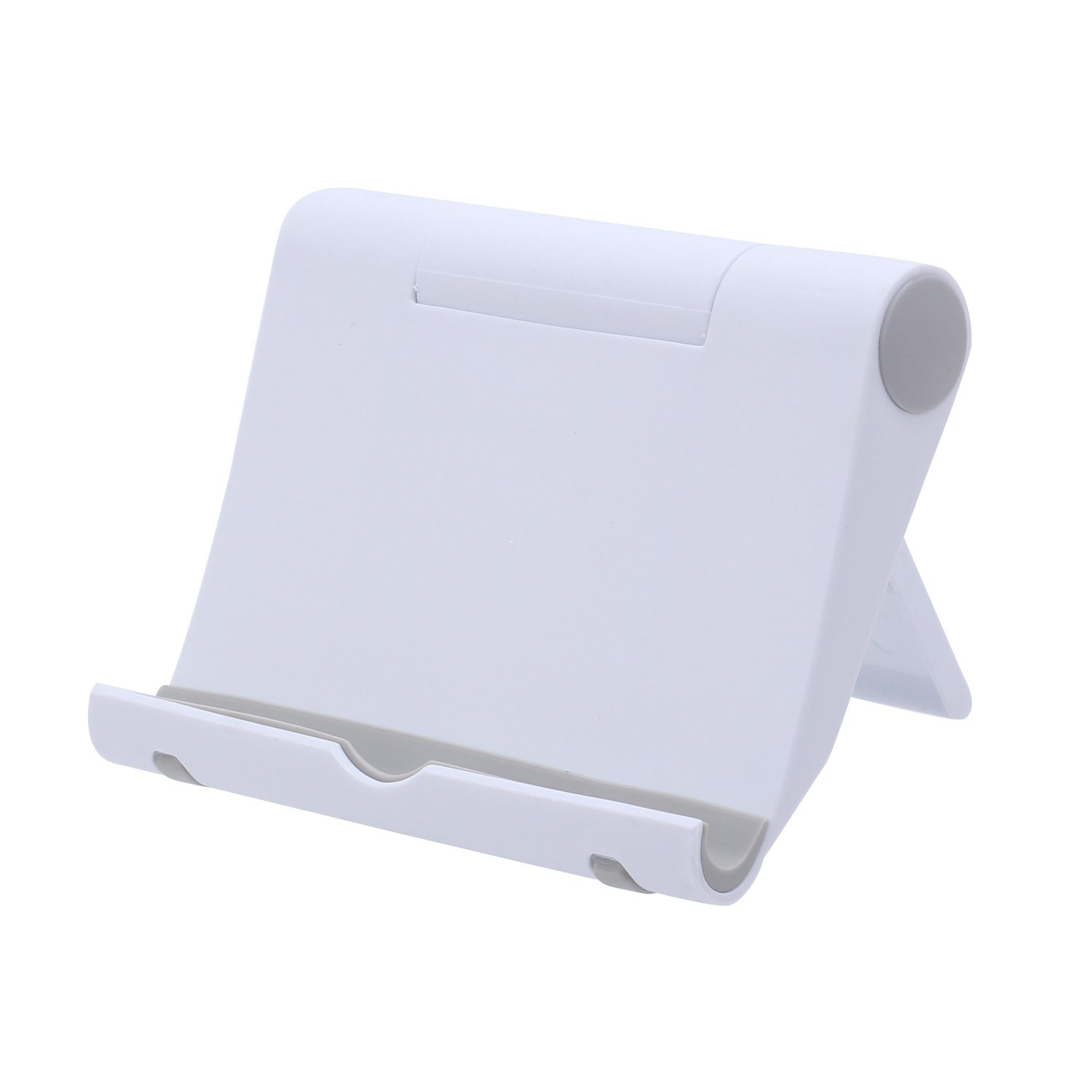 Merssavo Foldable Multi-angle Universal Cell Phone Desk Stand Holder For Tablet Mobile Phones 4-10 Inches White