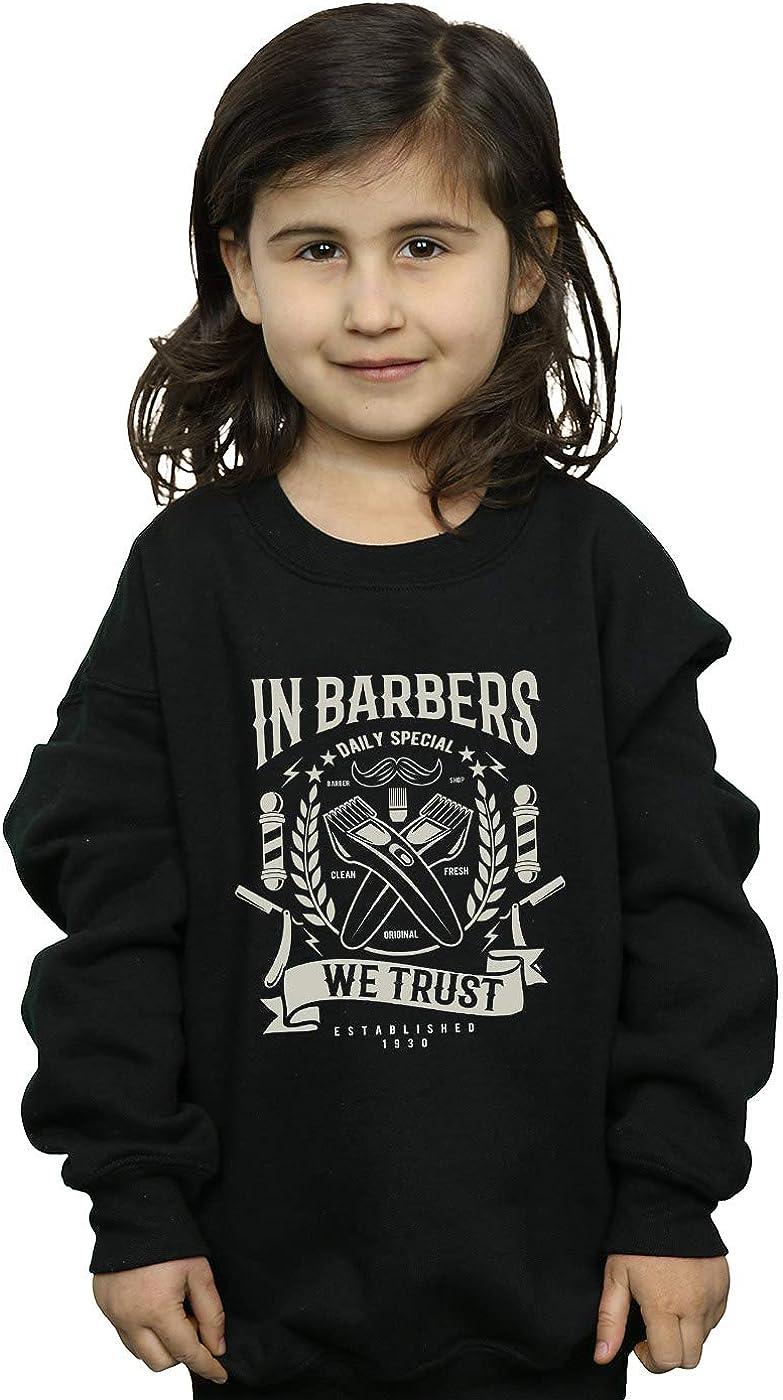 Drewbacca Girls in Barbers We Trust Sweatshirt