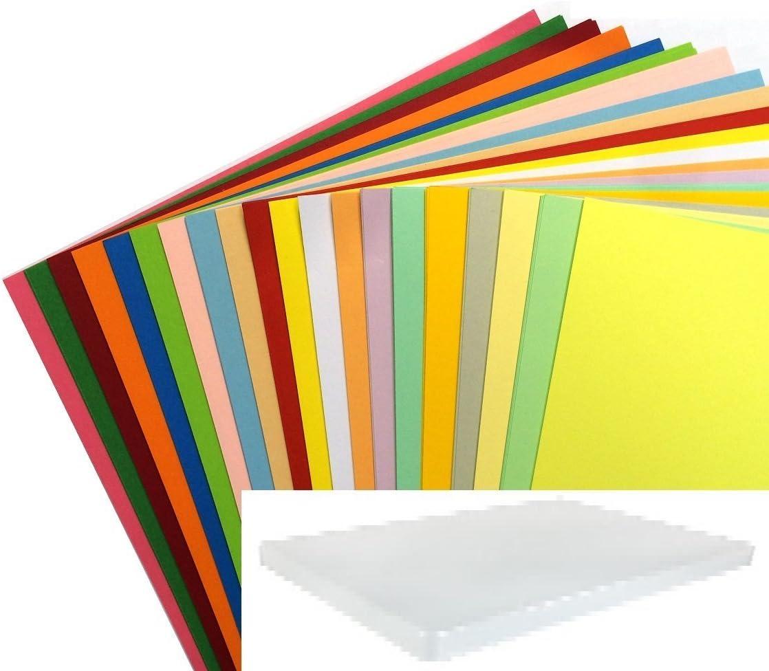 Nouveau A4 10 Feuille Papier pour imprimante pack Fluorescent cartes couleurs Arts Craft Scrapbook