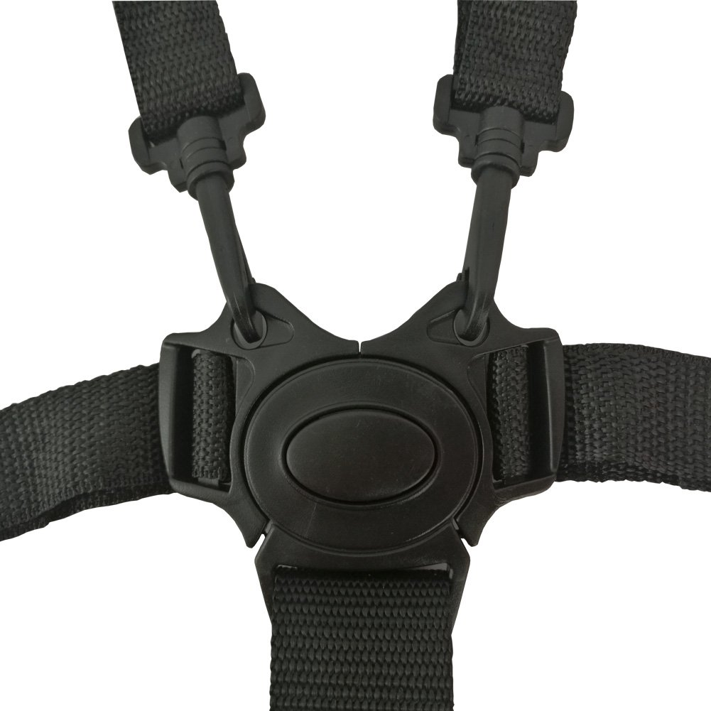 Ceinture de s/écurit/é 5/points Sangles de chaise haute chaise haute universel pour ceinture de s/écurit/é//Sangles//Harnais//de remplacement pour chaise haute En Bois Poussette de b/éb/é