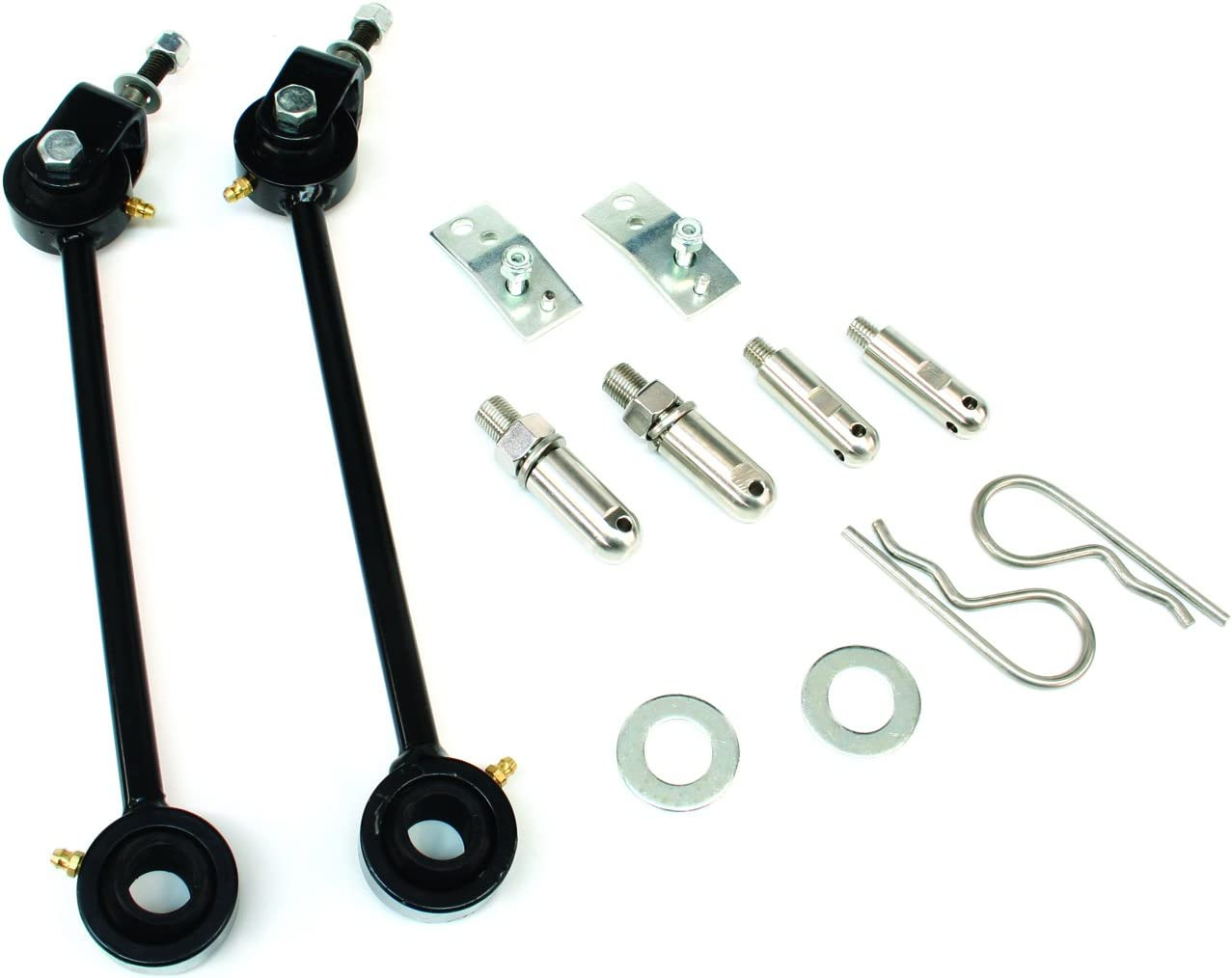 """Quick Disconnect Rear Sway Bar End Links 5.5-8/"""" Lift for Jeep Wrangler JK"""