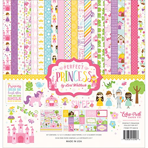 (Echo Park Paper Company Perfect Princess Collection Kit)