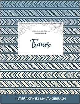 Maltagebuch für Erwachsene: Trauer (Schildkröten Illustrationen, Tribal)