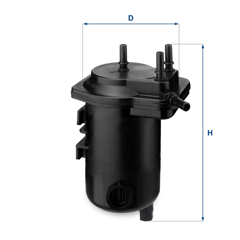 Ufi Filters 24.013.00 Filtro Diesel