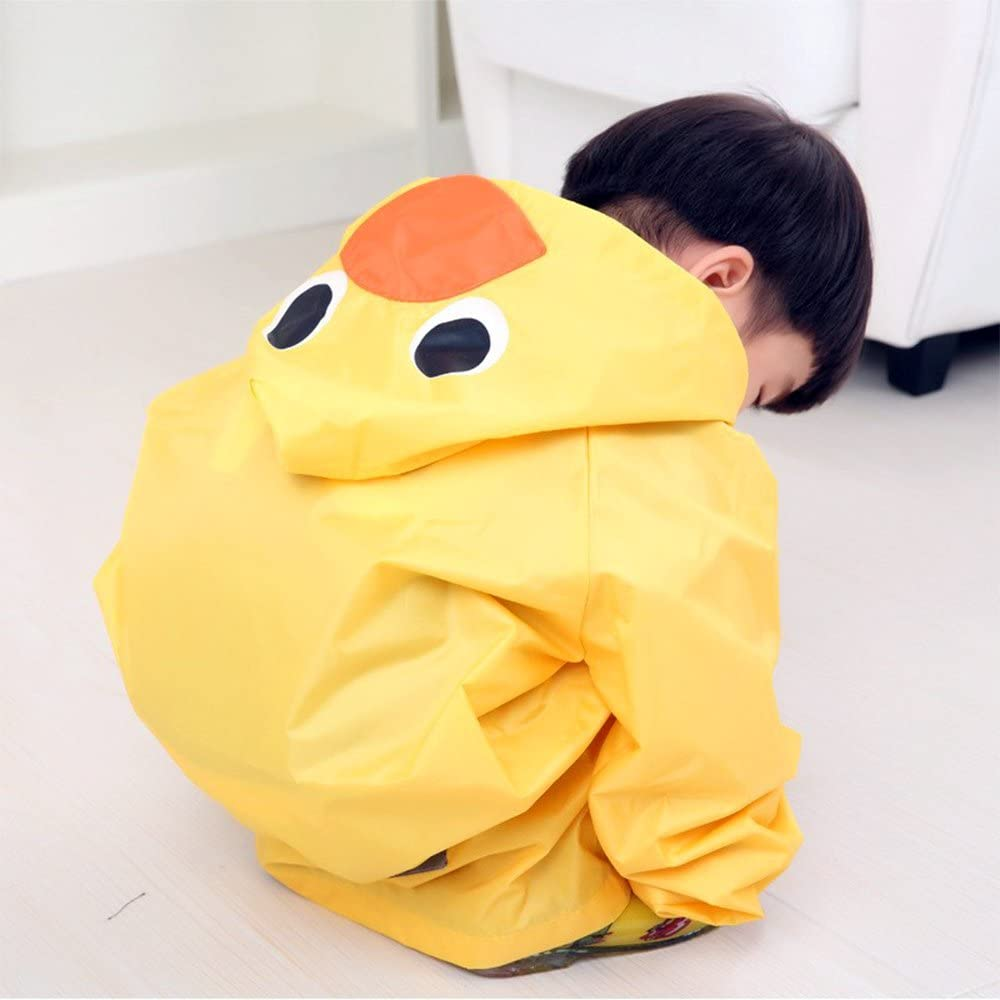 Kids Raincoat Children Waterproof Rainwear Rainsuit Waterproof Animal Rain Coat Student Poncho