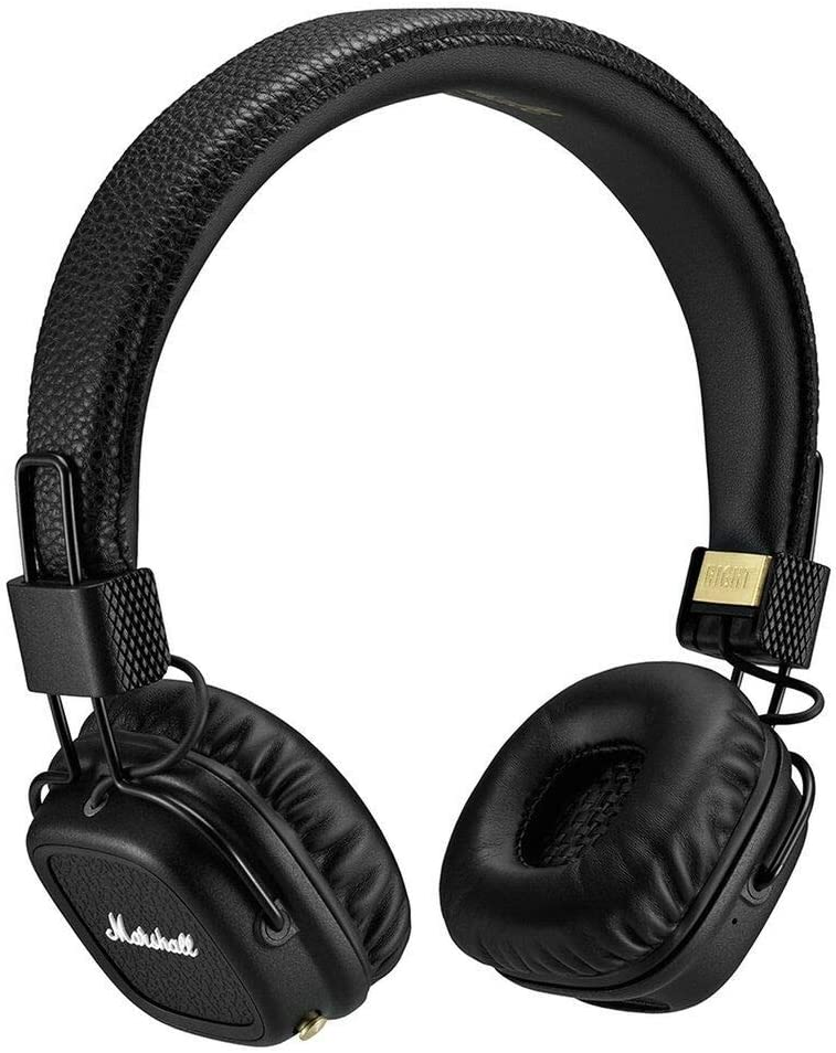 Marshall Major II Bluetooth On-Ear Headphones Black (4091378) Wireless + XW68236