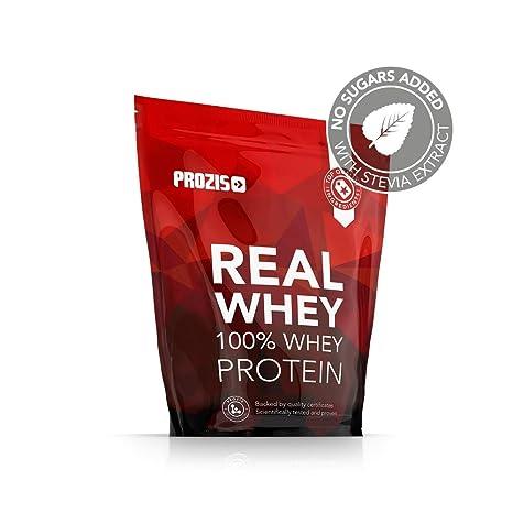 Prozis 100% Pure Real Whey Protein Powder - Suplemento de Piña Enriquecido con BCAAs para