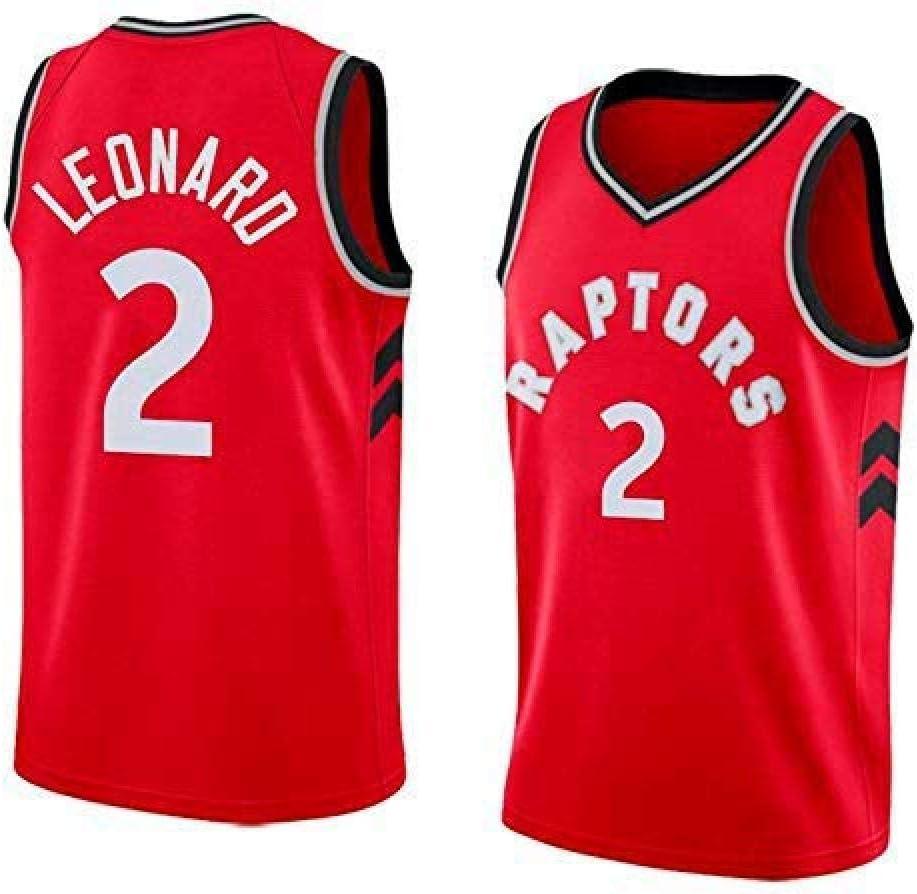 ODML Camiseta de Baloncesto para Hombre - NBA Toronto Raptors # 2 Kawhi Leonard Swingman Edition Camiseta de Baloncesto Ropa Deportiva de Unisex: Amazon.es: Deportes y aire libre