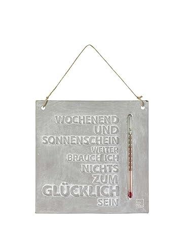 Rader Design Thermometer Aussenthermometer Wochenend Und