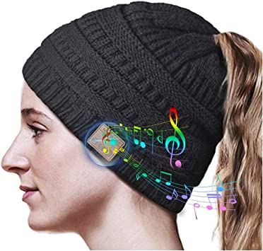 Gorro Bluetooth, Gorro Bluetooth Inalámbrico, Gorro de Invierno ...