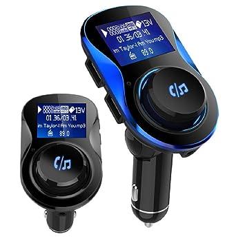 VINCEN Mini Cargador del Bluetooth del Coche, MP3 ...