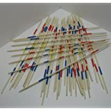 Tolles HOLZ Mikado Spiel, Mikadospiel XXL, 50cm, 41 Teilig aus Holz, Holzmikado (LHS)