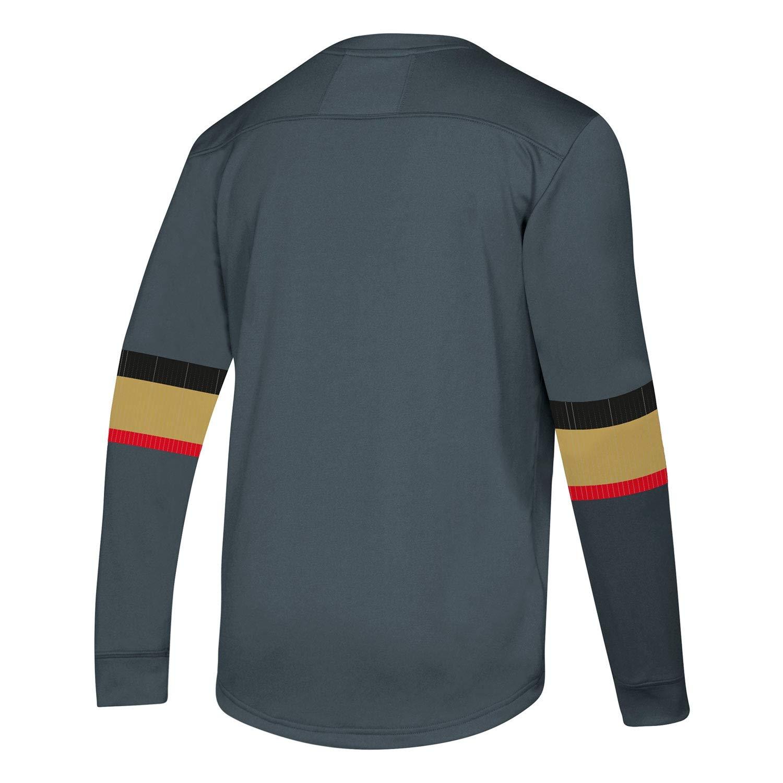 adidas Vegas Golden Knights NHL Platinum Long Sleeve Trikot