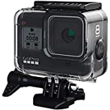 Ozone GoPro Hero 8 Black Housing Case with Bracket Accessories 60M Protective Shell Cover Underwater Dive Case for Hero 8 Action Camera - Black