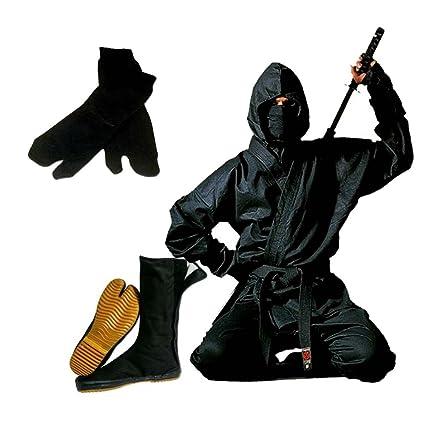 Amazon.com : Wacoku Authentic Full Ninja Uniform Set - 0-11 ...