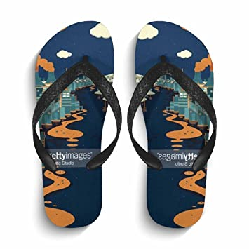95b4a10ae13a97 Image Unavailable. Image not available for. Color  Chad Hope Men Stylish Beach  Flip Flops Summer Flip Flop Sandals   Slippers