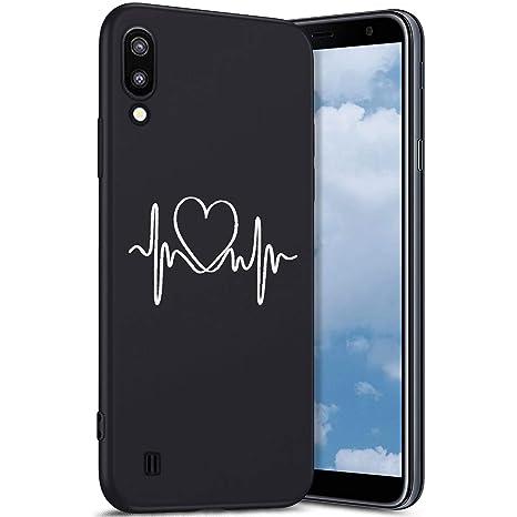 Robinsoni Funda Compatible con Samsung Galaxy M10 Funda Galaxy M10 ...