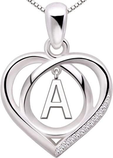 Sterling Silver Round Initial Charm Letter E Hand Stamped With 16 Silver Bead Chain