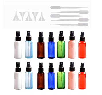 Amazon.com: HNYYZL Botellas de spray, 14 unidades, 30 ml, a ...