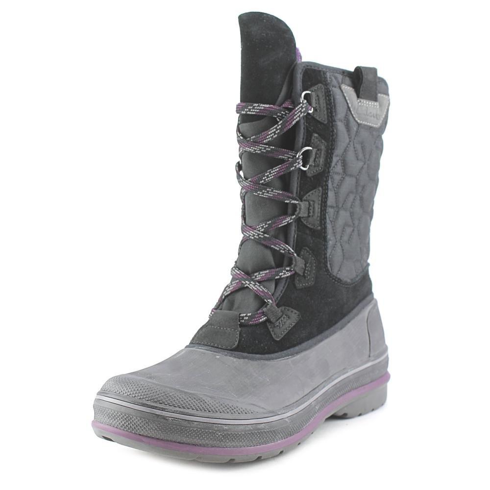 Clarks Muckers Shale Women US 6 Black Rain Boot