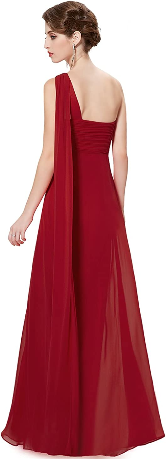 Ever Pretty Womens One-Shoulder Evening Gown