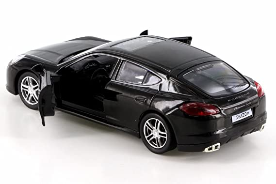 Amazon.com: RMZ City Porsche Panamera Turbo, Black 555002 - Diecast Model Toy Car but NO BOX: Toys & Games