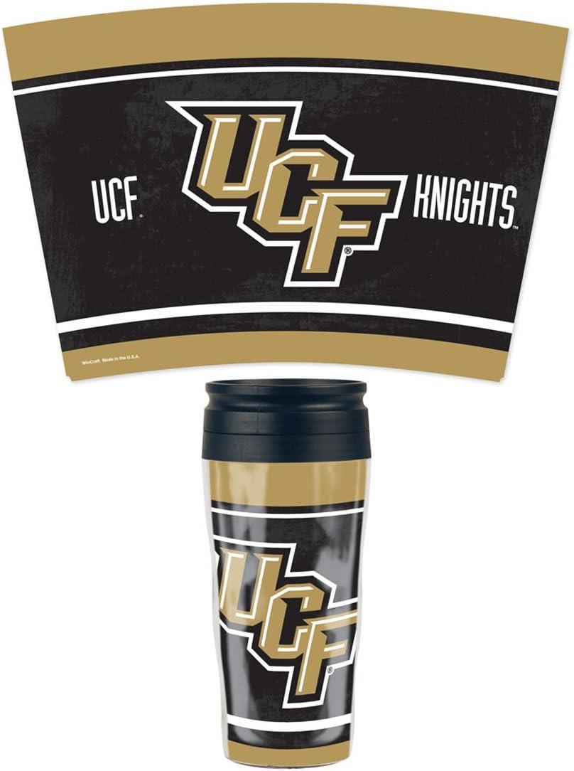 NCAA Central Florida UCF Knights Travel Mug 16 oz with slider top