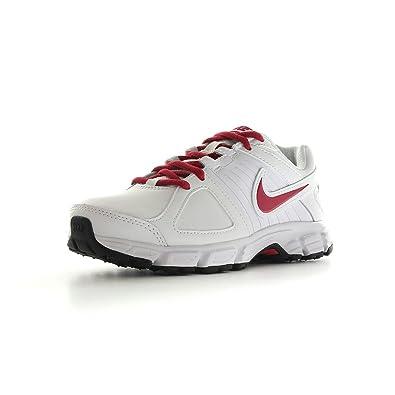 Nike Women s Downshifter 5 lea Running Shoes White Blanc et rose 5 ... 902c0c597