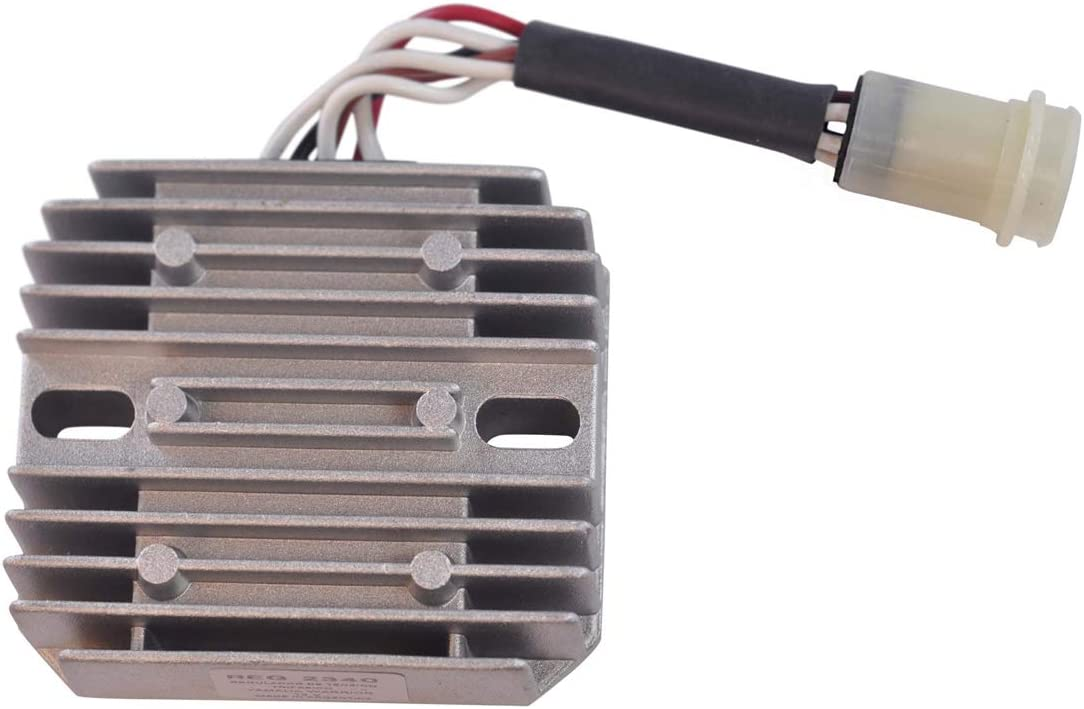 Qinghengyong Replacement for YAMAHA Big Bear 350 400 for YAMAHA Voltage accessory 1996-2001 Regulator Rectifier Voltage Accessory