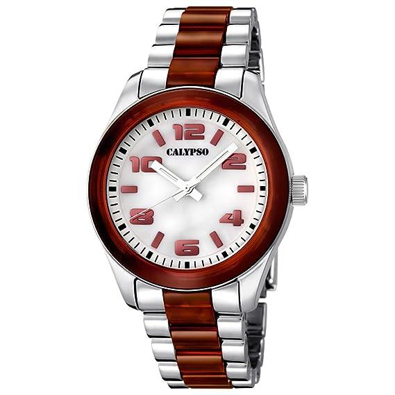 Calypso mujer-reloj analógico de cuarzo para niña - - - - - plástico UK5648