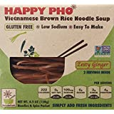 Star Anise Foods Happy Pho Vietnamese Brown Rice Noodle Soup Zesty Ginger -- 4.5 oz