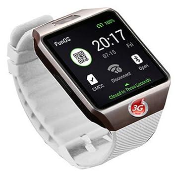 Reloj Inteligente Android WiFi Qw09 3g: Amazon.es: Electrónica