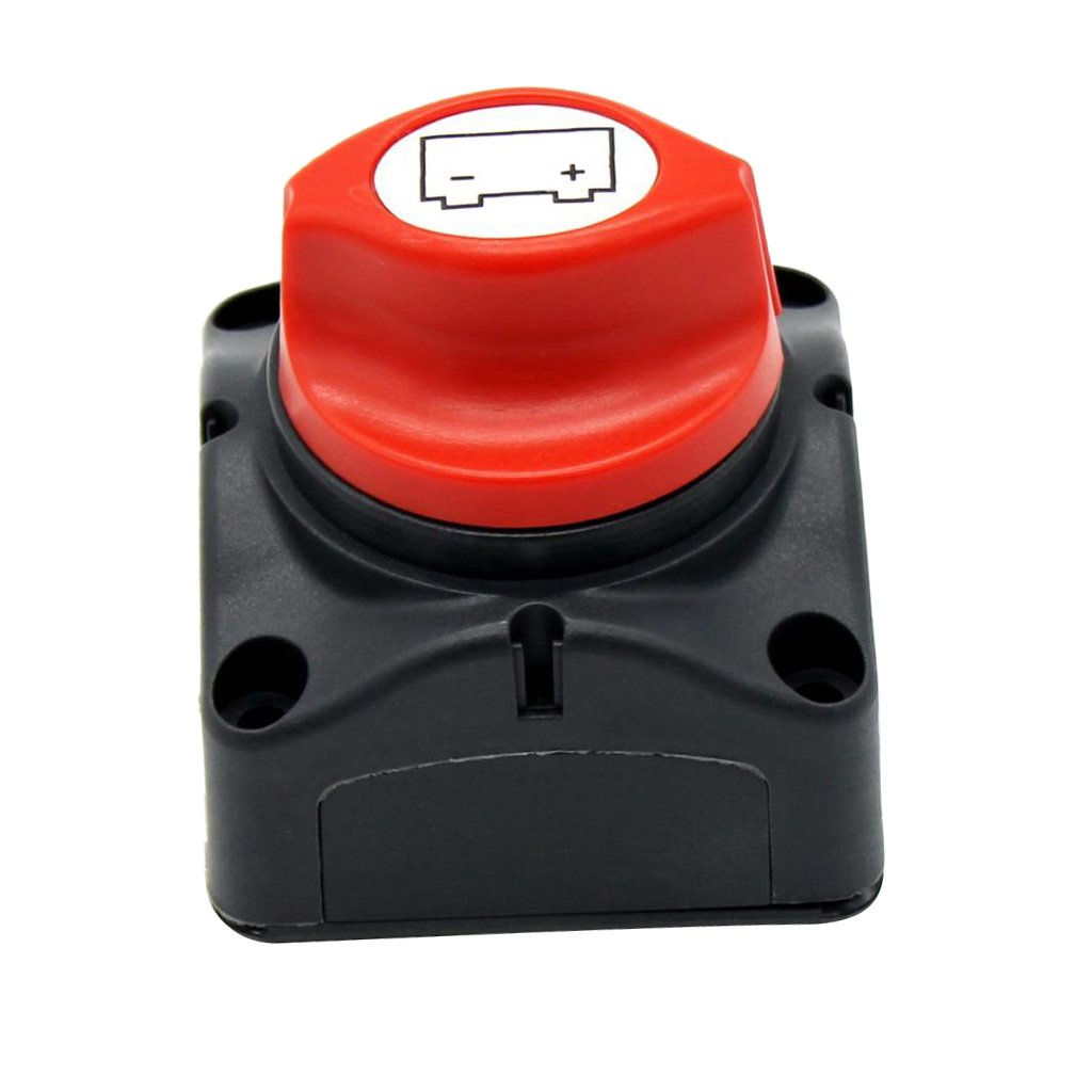 Baosity Battery Disconnect Isolator Master Switch On//Off for Car RV Auto 600A
