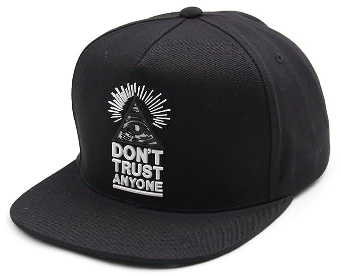 sujii ILLUMINATI Triangle Hip Hop Boys Snapback Hat Trucker Baseball  Cap Black at Amazon Men s Clothing store  fe638d4a985