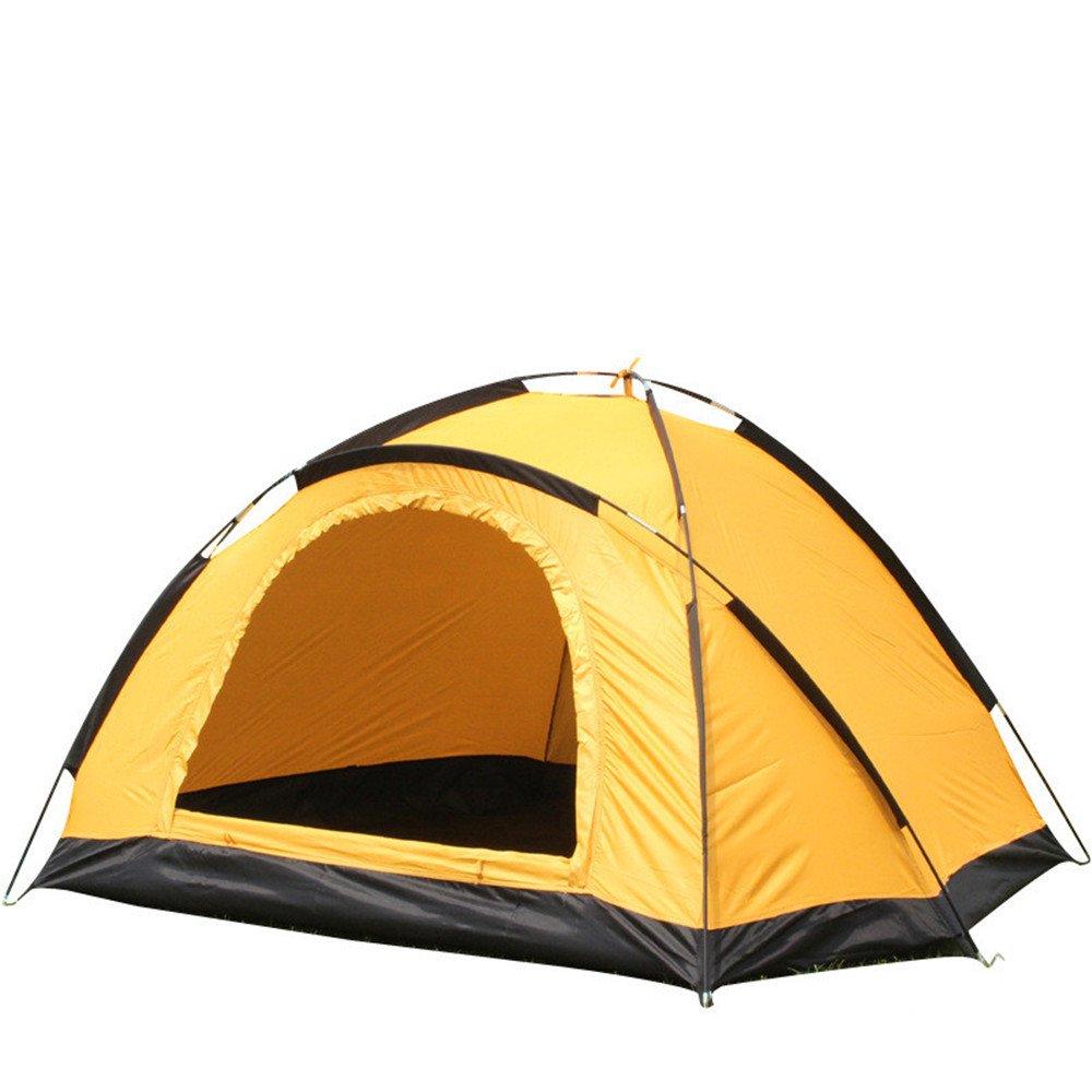 Outdoor Leichtes 2 Person Camping Zelt Single Regenschutz Backpacking Zelt muss muss Zelt für Outdoor-Sport montiert Werden 281c7a