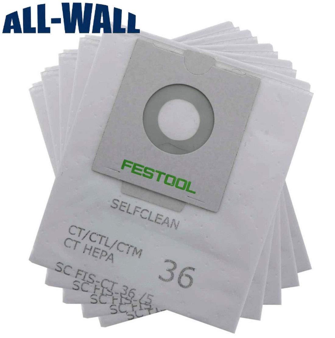 Simuke sc fis-ct 36 496186-5 sacchetti per Festool aspirapolvere