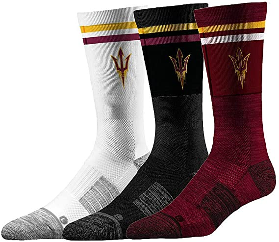 4 Total Socks Elite Fan Shop NCAA Mens Argyle Sock 2-Pack