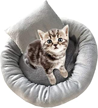 Comfortable Plush Kennel Dogs Pet Litter Deep Sleep PV Cat Litter Sleeping Bed Pet Accessorice